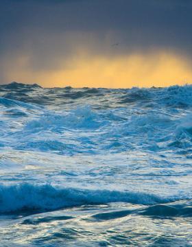 Choppy seas image