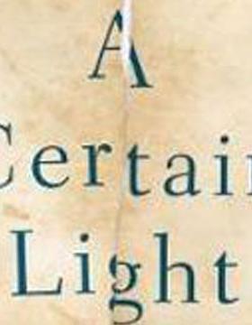A Certain Light- Bookcover