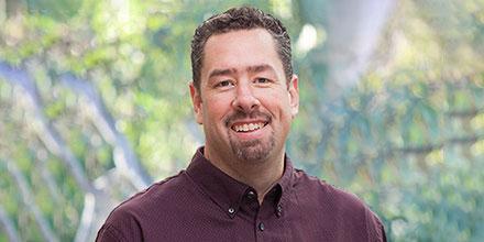 Image: Honorary Professor Matthew Hoffmann (RegNet)