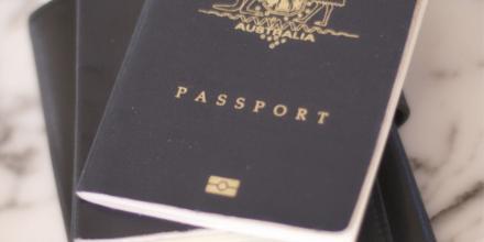 Image of Australian passport