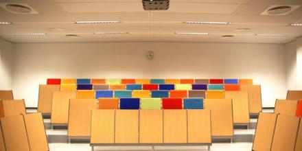 Image of colourful classroom
