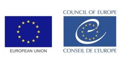 EU and European Council logos