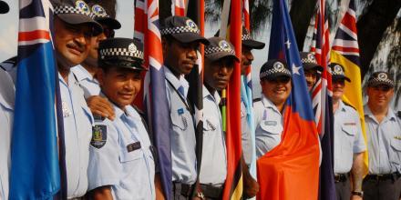 RAMSI law enforcement officers