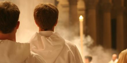 Liturgical scene