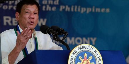 Image of President Rodrigo Duterte