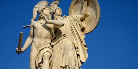 Athena protection monument-image by Couleur from Pixabay