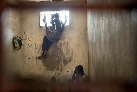 Nimba County Prison Inmates, Liberia