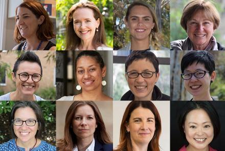 Image: Inspiring women of CAP (ANU)