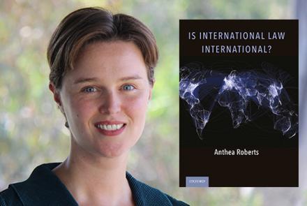Image: Professor Anthea Roberts (RegNet)