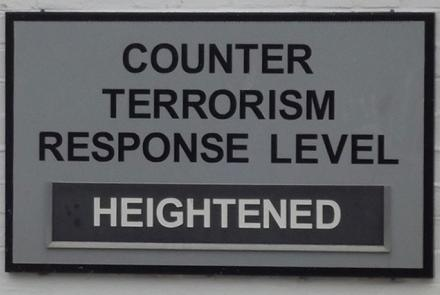 Image: Porter's Lodge Portsmouth Historic Dockyard Counter Terrorism Response Level Heightened by Elliott Brown, Flickr, CC-BY-2.0.