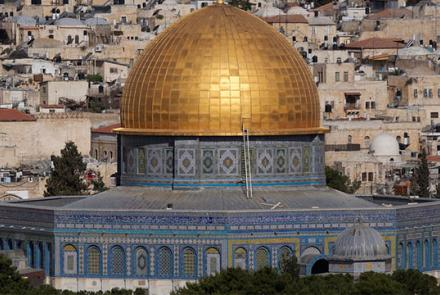 Image: Dome of the Rock at the Al-Aqsa mosque in Jerusalem by Joachim Tüns, Flickr, under CC BY-NC 2.0