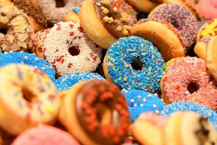Doughnuts Image by Edward Lich from Pixabay under Pixabay Licence