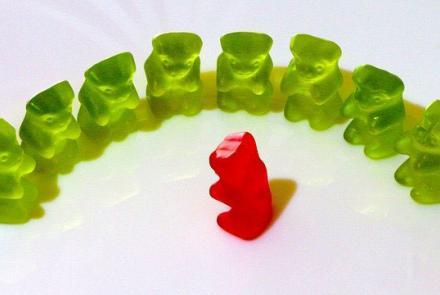 Gummi bears Image by Hebi B. from Pixabay under Pixabay Licence