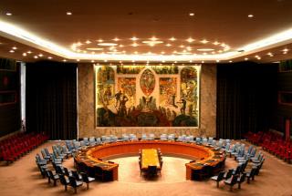 UN Security Council Chamber, UN headquarters, New York City