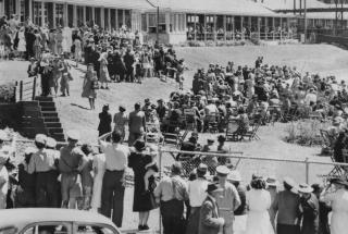Official opening of Greenslopes Repatriation Hospital, Brisbane, Australia