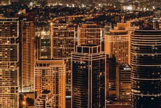 JC-Gellidon- city buildings during night time