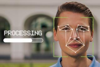 Face recognition on person