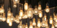 Image of Edison light bulbs