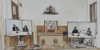 Image of virtual court in session