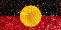 Aboriginal flag Image by Marty D, Flikcr, under CC BY-NC-ND 2.0