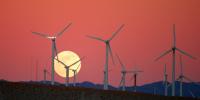 wind farm attribute to Chuck Coker on Flickr