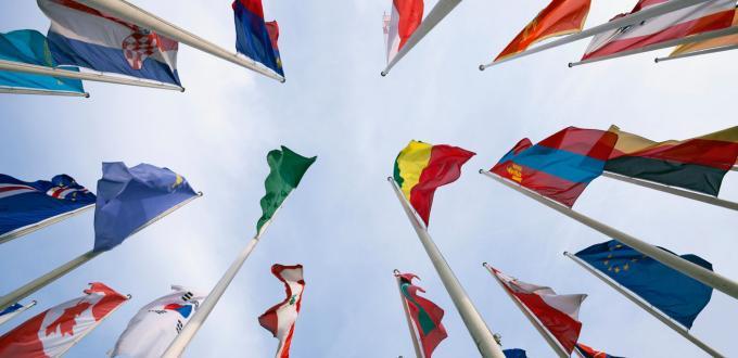 Flags - vertical.